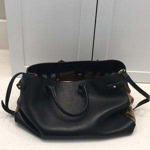 Burberry large handbag
